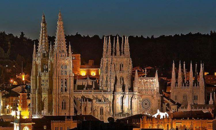 Catedral-Burgos casas rurales al pie del árbol